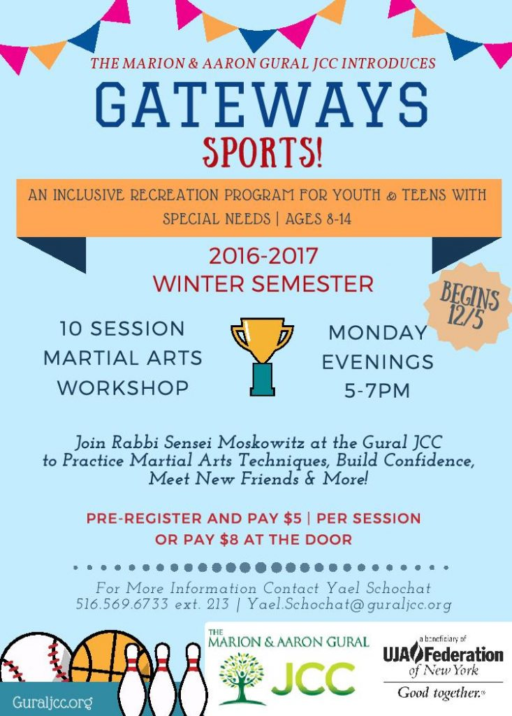 Gateways Sports for Youth & Teens with Special Needs!