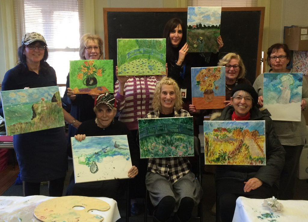 Painting Class at the Gural JCC