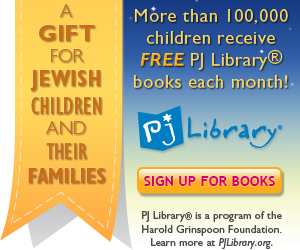 PJ Library Books for Jewish Children