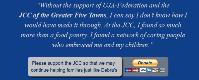 Support The JCC of the Greater Five Towns