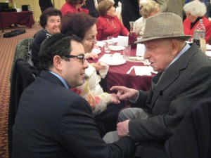 Chaverim Program for Holocaust Survivors