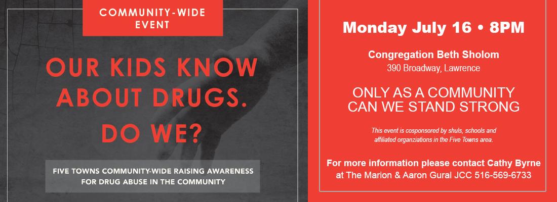 JCC Community Drug Awareness Event