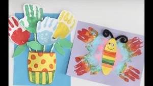 Hand Prints Art Project